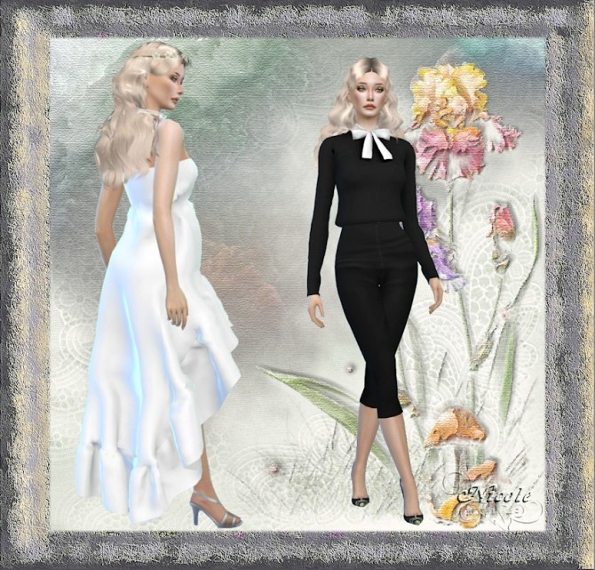 Sims 4 Marie at L'univers de Nicole