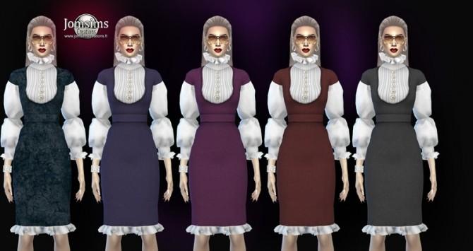 Zaika dress at Jomsims Creations image 2004 670x355 Sims 4 Updates