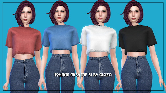 Top 31 at All by Glaza image 201 Sims 4 Updates