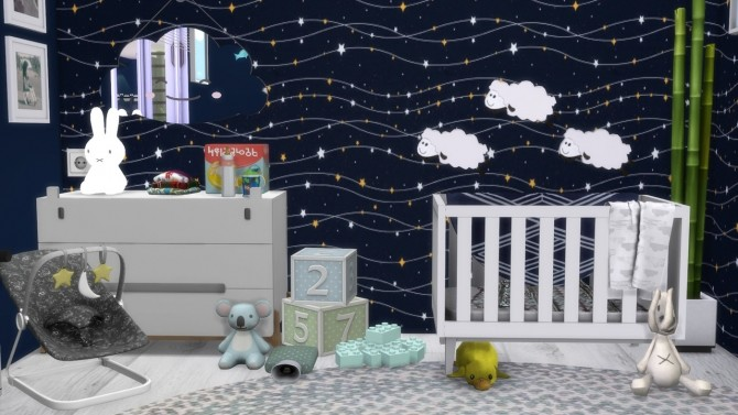 Boys Nursery at MODELSIMS4 image 2016 670x377 Sims 4 Updates