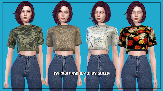 Top 31 at All by Glaza image 202 Sims 4 Updates