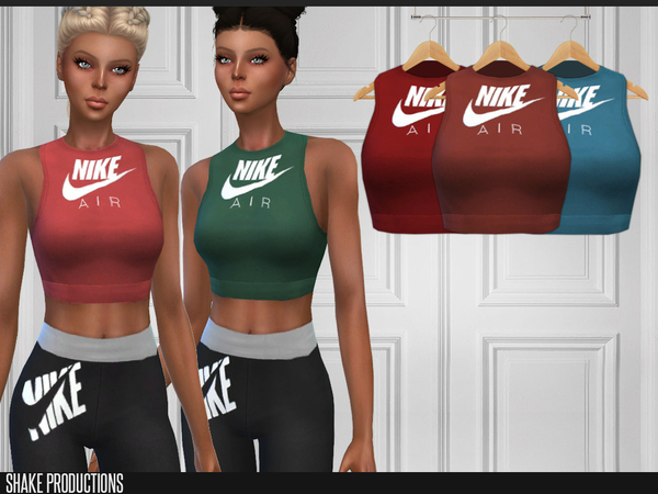 Sims 4 181 Top by ShakeProductions at TSR
