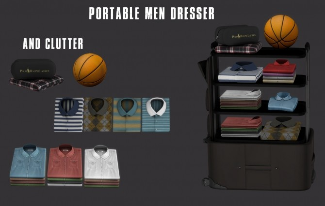 Portable Dresser (P) at Leo Sims image 2071 670x426 Sims 4 Updates
