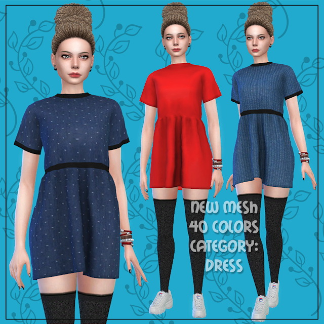 Dress 56 at All by Glaza image 208 Sims 4 Updates