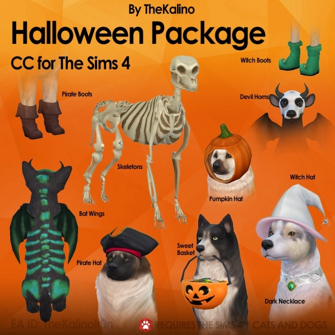 Halloween Package at Kalino image 2082 670x670 Sims 4 Updates
