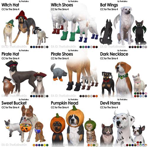 Halloween Package at Kalino image 2104 Sims 4 Updates
