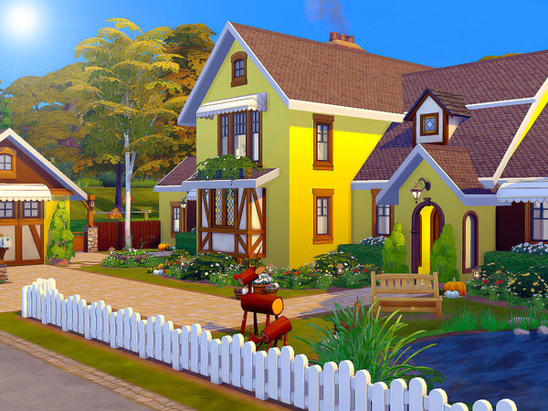 The Willows house by sharon337 at TSR image 2124 Sims 4 Updates