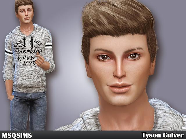 Sims 4 Tyson Culver at MSQ Sims