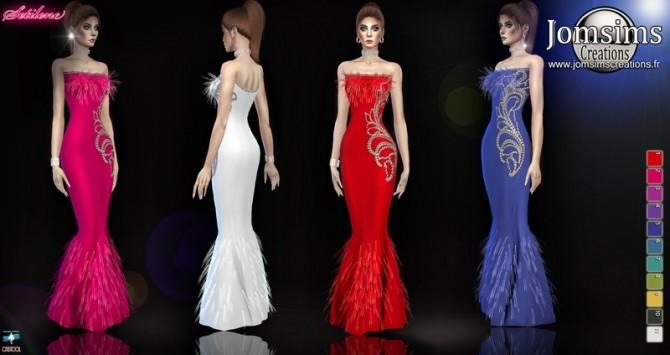 Sims 4 Setilene dress at Jomsims Creations