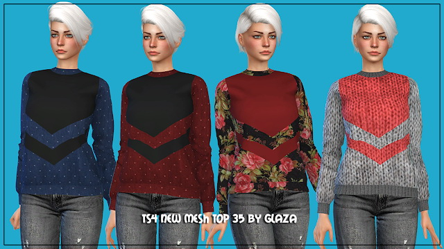 Sims 4 Top 35 at All by Glaza