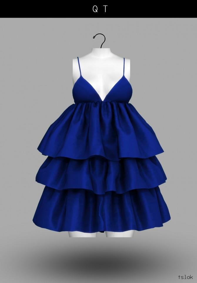 QT ruffle dress at TSLOK image 2222 670x961 Sims 4 Updates