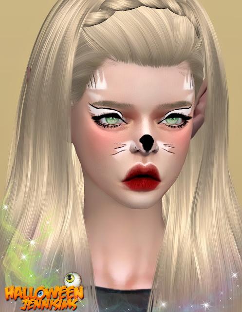 Makeup Halloween October Days at Jenni Sims image 2242 Sims 4 Updates