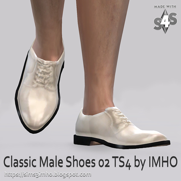 Classic Male Shoes #02 at IMHO Sims 4 image 227 Sims 4 Updates