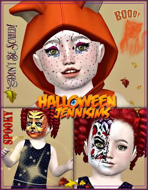 Makeup Halloween October Days at Jenni Sims image 2272 Sims 4 Updates