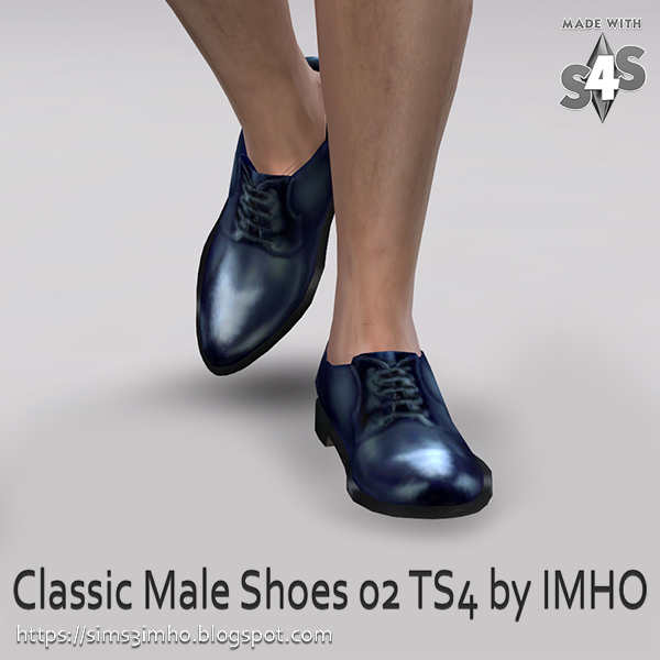 Classic Male Shoes #02 at IMHO Sims 4 image 228 Sims 4 Updates