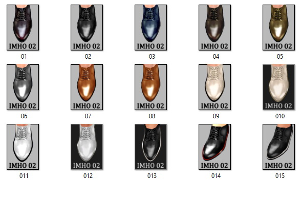 Classic Male Shoes #02 at IMHO Sims 4 image 230 Sims 4 Updates