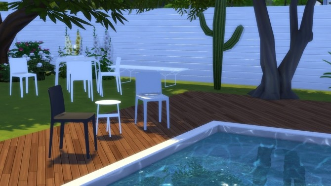 Sims 4 ELEMENTAIRE CHAIR at Meinkatz Creations