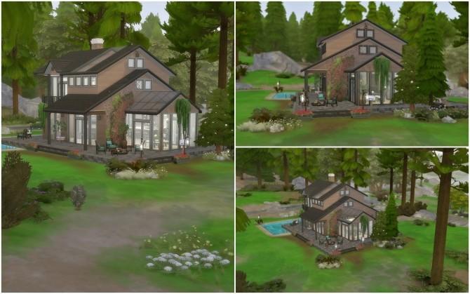 Sims 4 Granite Falls Makeover at Via Sims
