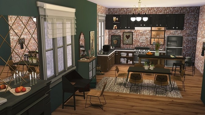 Couples Starter Culpepper House 19 At Zozo Sims 187 Sims 4