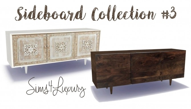Sideboard Collection #3 at Sims4 Luxury image 238 670x383 Sims 4 Updates