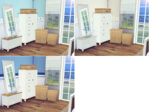 Coastal Bedroom by Sooky at Blooming Rosy image 2431 Sims 4 Updates