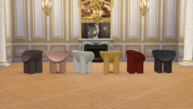 ROLY POLY CHAIR at Meinkatz Creations image 244 670x377 Sims 4 Updates