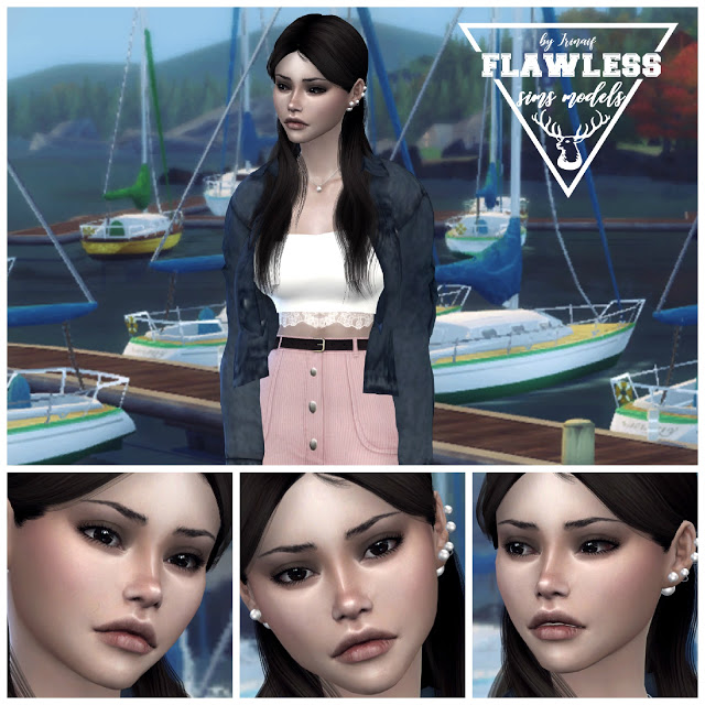 Heather at Amber Sim – Flawless image 2445 Sims 4 Updates