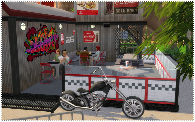 Sims 4 McDrive V2 at Nagvalmi