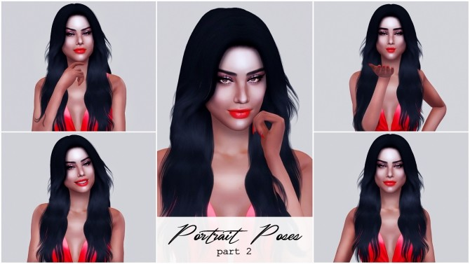 Portrait Poses part 2 at Katverse image 2531 670x377 Sims 4 Updates