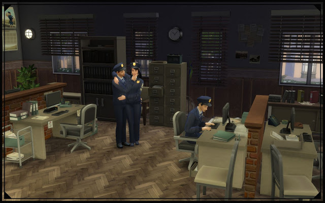 Sims 4 Police station V2 at Nagvalmi