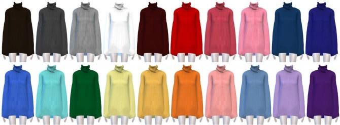 FB turtleneck dress at SNOW:L image 2614 670x247 Sims 4 Updates