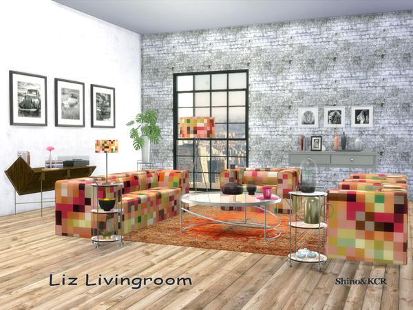 Sims 4 Living Liz by ShinoKCR at TSR