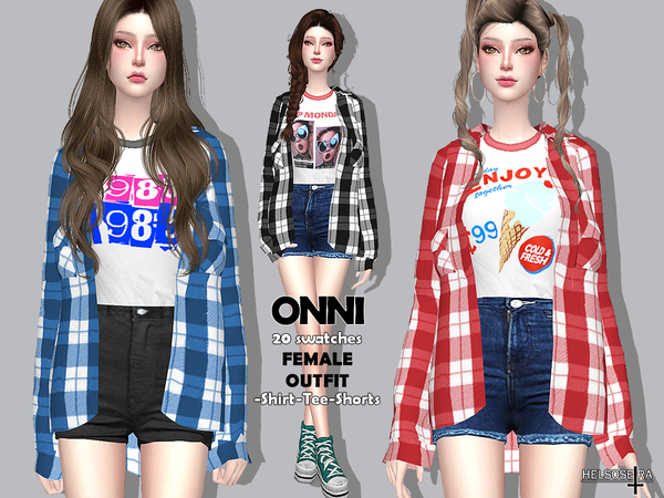ONNI Outfit by Helsoseira at TSR image 2627 Sims 4 Updates