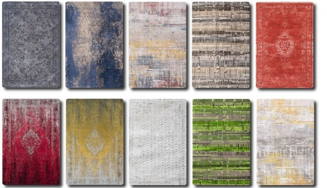 Sims 4 Designer Rugs Collection at TaTschu`s Sims4 CC