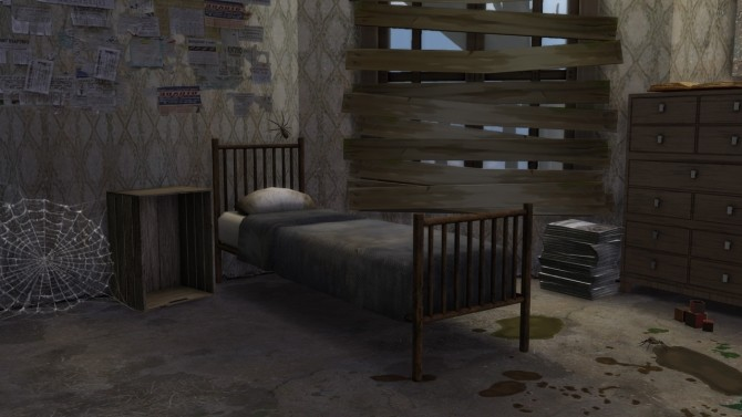 Abandoned House #2 at MODELSIMS4 image 2684 670x377 Sims 4 Updates