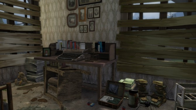 Abandoned House #2 at MODELSIMS4 image 2695 670x377 Sims 4 Updates