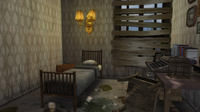 Abandoned House #2 at MODELSIMS4 image 2705 670x377 Sims 4 Updates