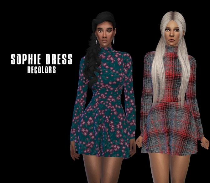 Sophie Dress at Leo Sims image 2717 670x585 Sims 4 Updates