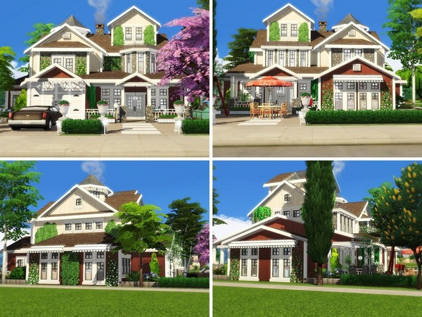 Crystal Cottage by MychQQQ at TSR image 2718 Sims 4 Updates