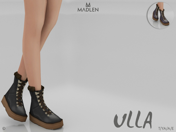 Madlen Ulla Boots by MJ95 at TSR image 2726 Sims 4 Updates