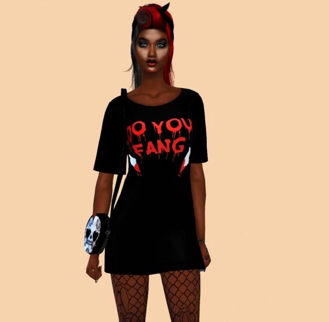 Halloween Dress at Teenageeaglerunner image 2816 670x655 Sims 4 Updates