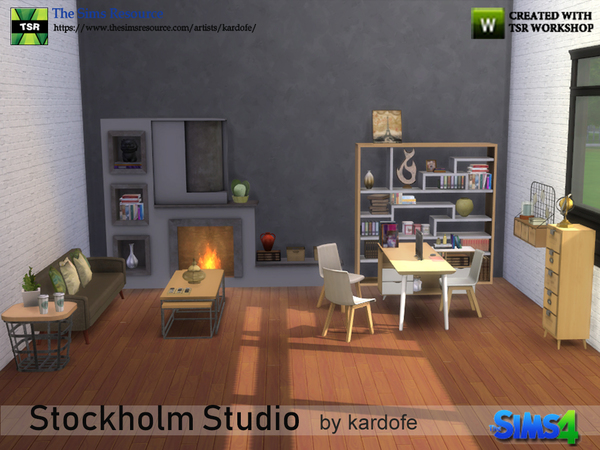 Stockholm Studio by kardofe at TSR image 2819 Sims 4 Updates