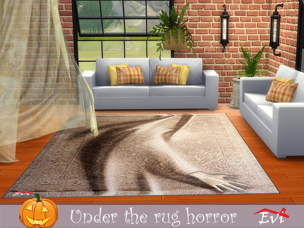 Sims 4 Under the rug horror by evi at TSR