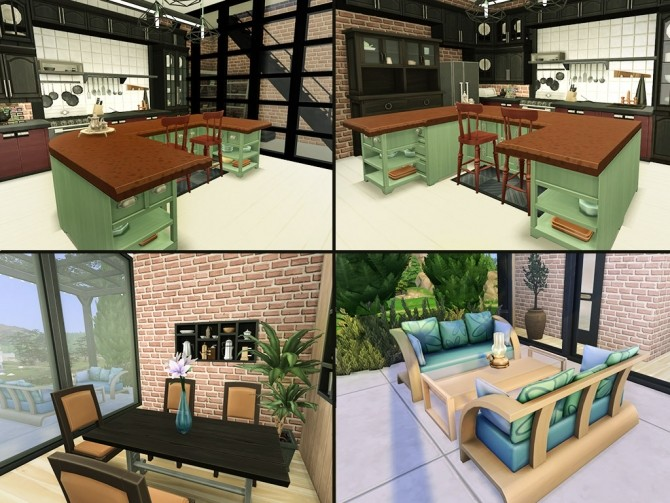 Sims 4 Small loft at HoangLap's Sims