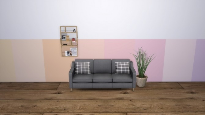 Modern Pastel Walls at MODELSIMS4 image 2861 670x377 Sims 4 Updates