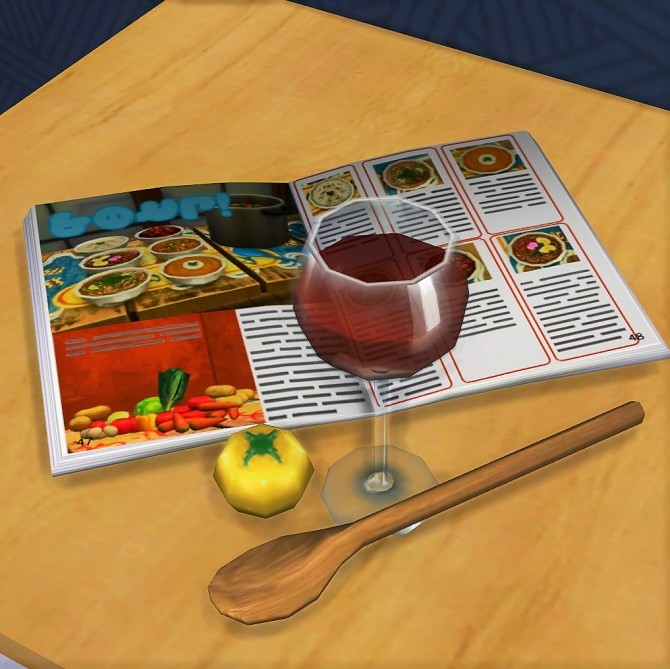 Sims 4 Open and closed Magazine at Budgie2budgie