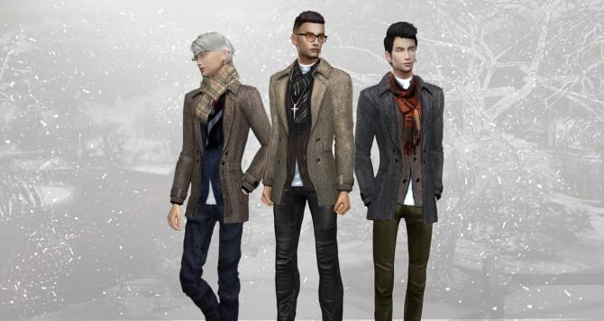 Sims 4 First Snow coat at HoangLap's Sims