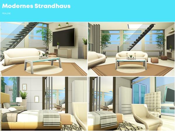 Modernes Strandhaus by Pralinesims at TSR image 2912 Sims 4 Updates