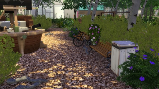 Sunny Court Park at MODELSIMS4 image 2913 670x377 Sims 4 Updates