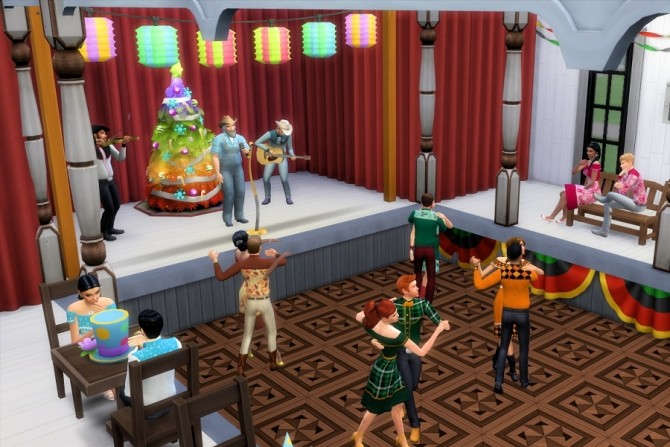 Sims 4 Let's Do Si Do Square Dance Outfits at Strenee Sims